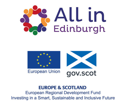 All in Edinburgh / Europe & Scotland Logos